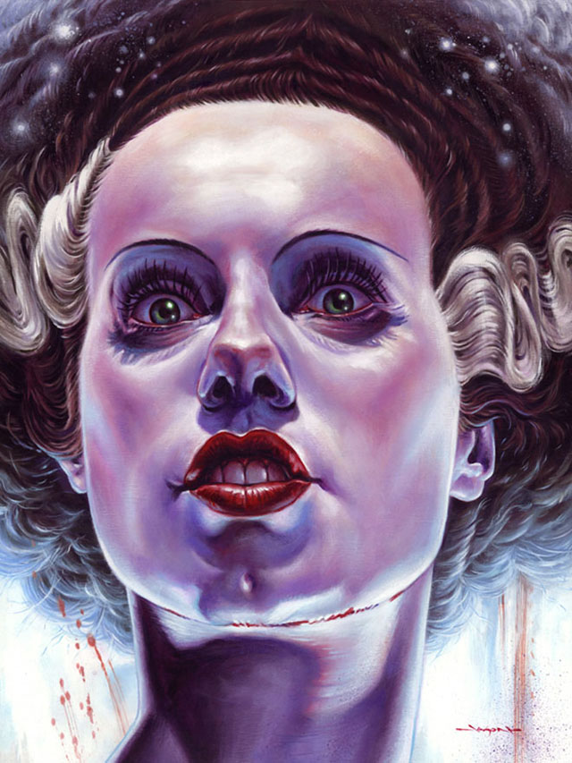 Bride of Frankenstein by Jason Edminston