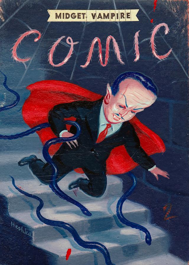 Midget Vampire Comics