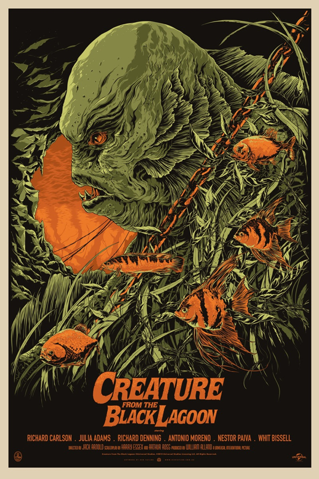Creature From The Black Lagoon by Ken Taylor