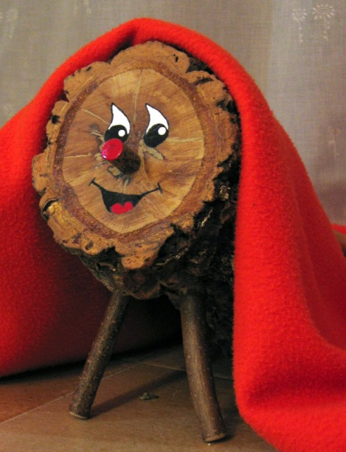 "The Catalan holiday shit log or ""Tió de Nadal"""
