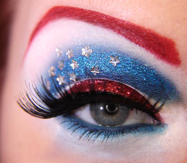 avengersinspired eye makeup designs