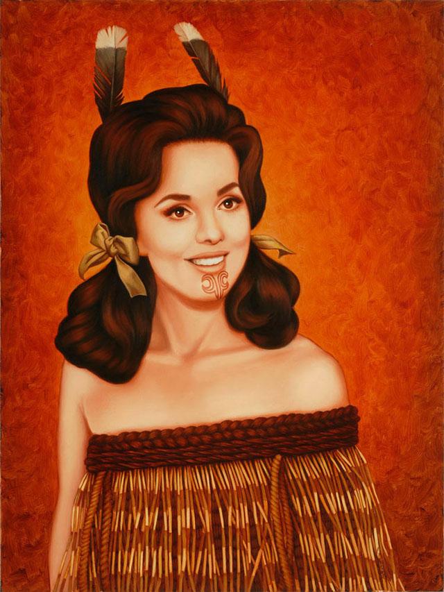 Castaway (Mary Ann) by Isabel Samaras