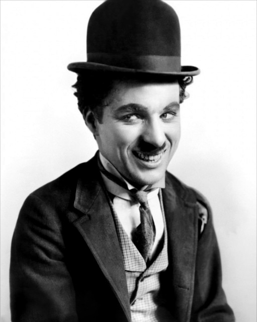 Charlie Chaplin's iconic character The Little Tramp