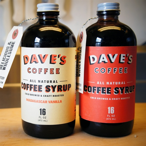 Dave's Cold Brewed Coffee Syrup