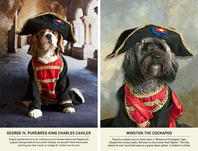 George IV & Winston via Carmichael Collective