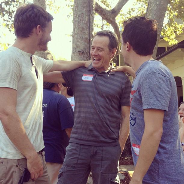Bryan Cranston at the reunion