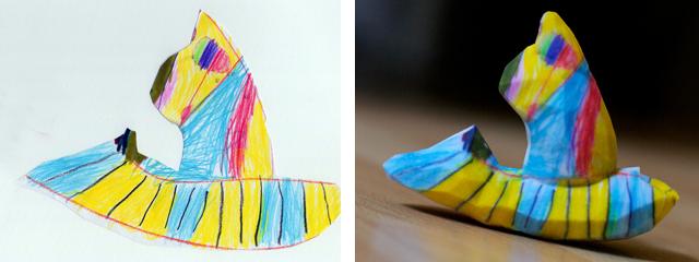 Crayon Creatures Hamster Speed Boat