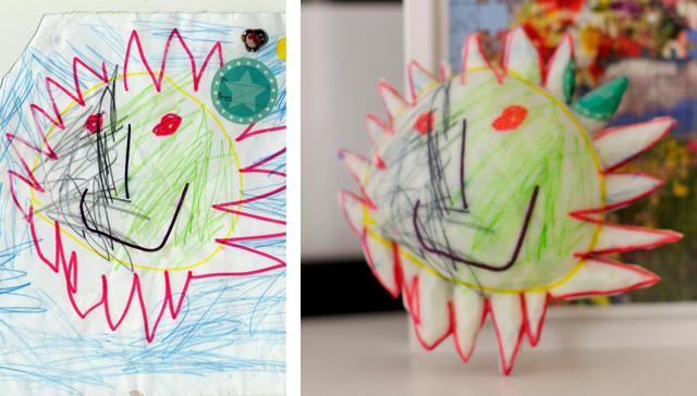 Crayon Creatures The Sun