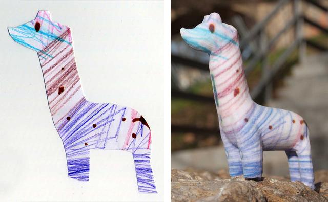 Crayon Creatures Llama