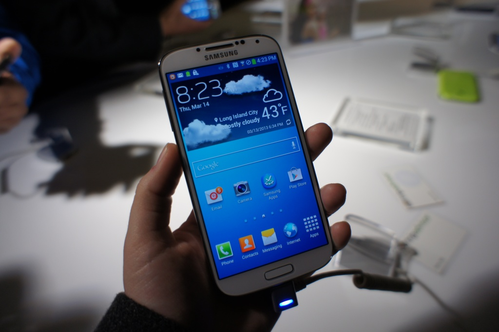 Samsung Announces the Galaxy S 4 Android Smartphone