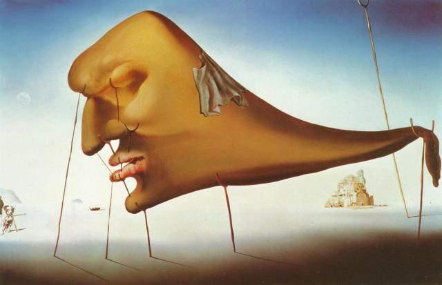 Sleep by Salvador Dalí