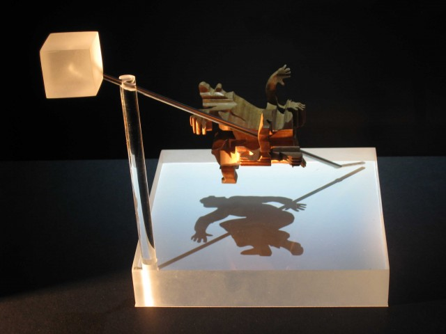 Magic angle shadow sculptures by John V. Muntean