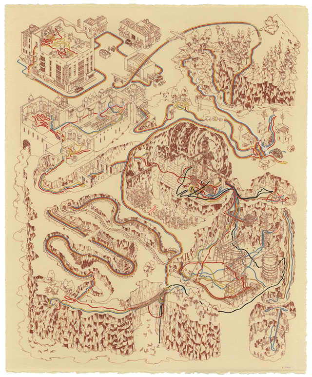 Indiana Jones and the Temple of Doom Map