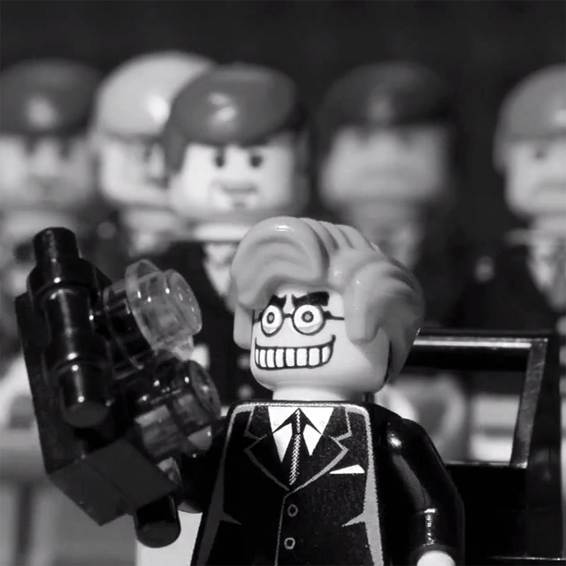 Stop-Motion Animated LEGO Version Of The 1964 Film, Dr