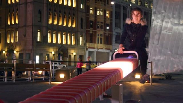 A Tilt of Light seesaw by ENESS