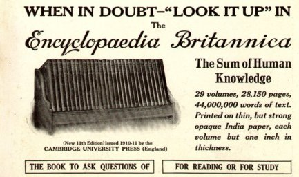 Encyclopaedia Britannica Going Out of Print