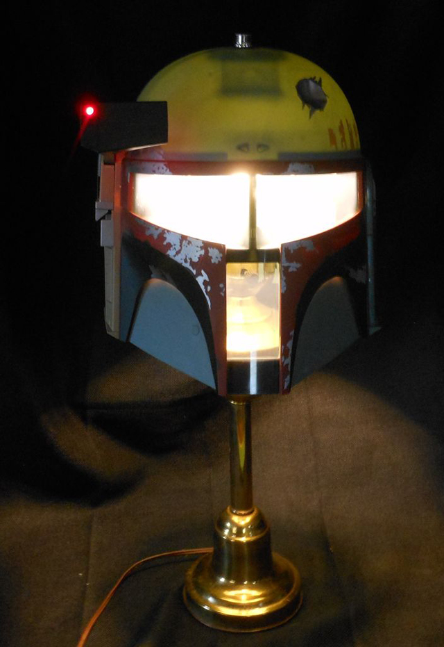 Star Wars Boba Fett Lamp by Major League Mods