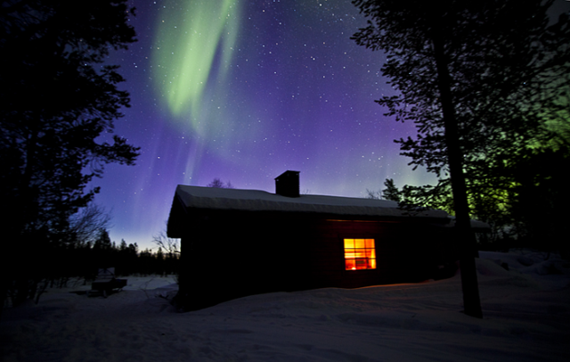 Aurora Borealis in Finnish Lapland by Flatlight Films
