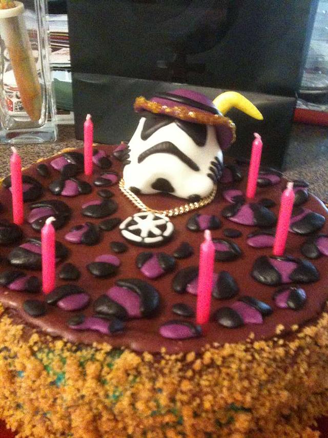 Stormtrooper Cheesecake