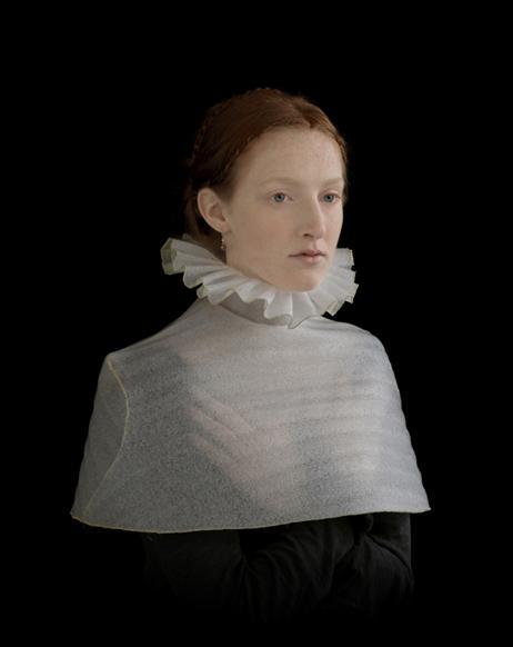 packing foam portrats by Suzanne Jongmans