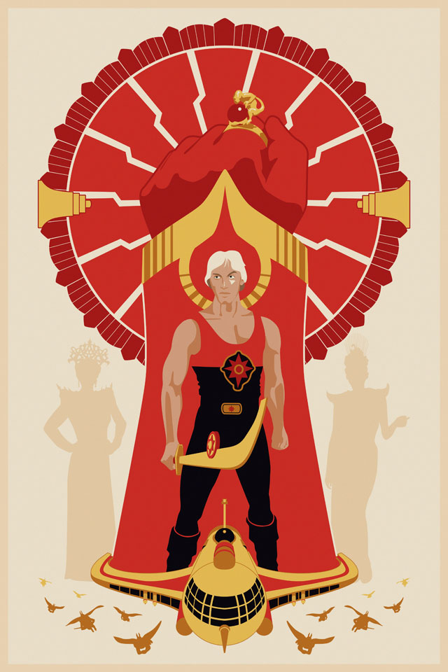 Flash Gordon by Steve Thomas