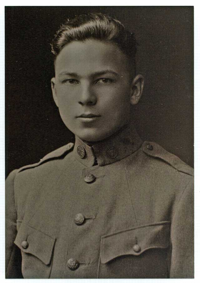Frank Buckles at 16