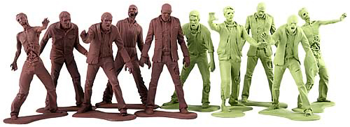 The Walking Dead Zombie Army Men at Gentle Giant, Ltd.