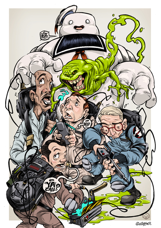 Ghostbusters by Clogtwo