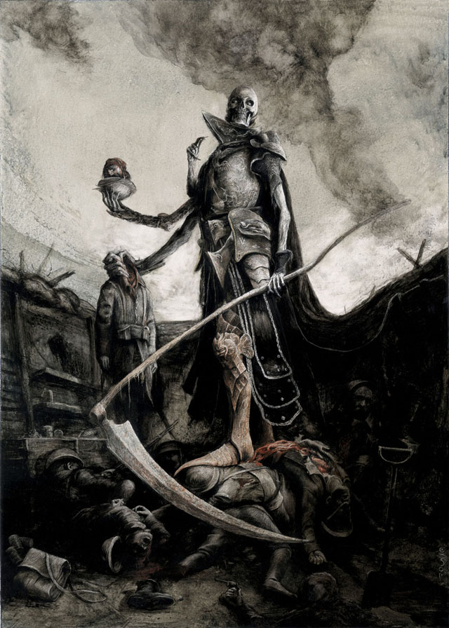 Death Reaper General by Santiago Caruso