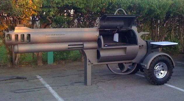 S&W 500 Grill