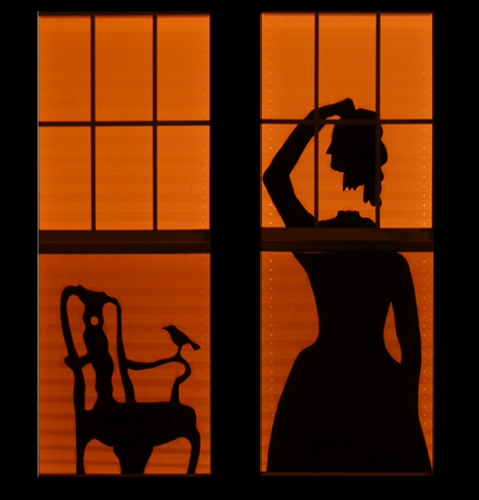 How To Make Spooky Haunted House Silhouettes