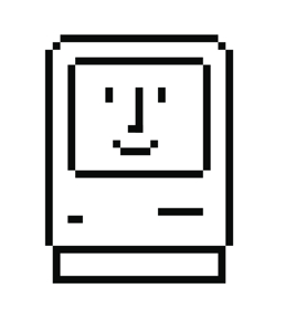 Apple icon designs by Susan Kare