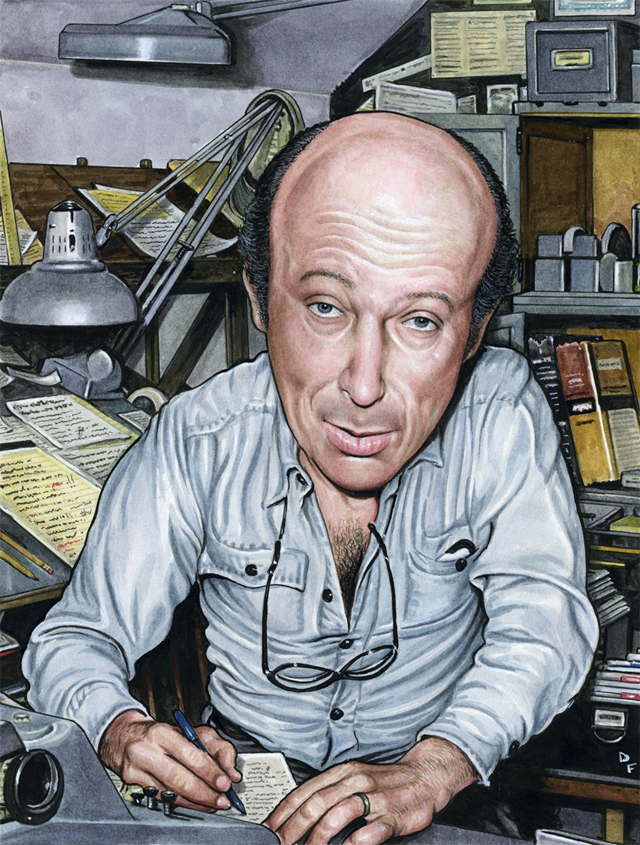 Harvey Kurtzman by Drew Friedman