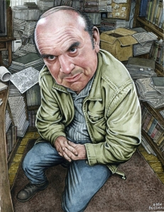 Harvey Pekar by Drew Friedman