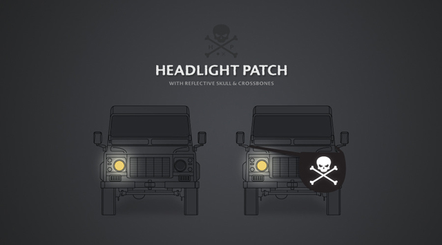 Headlight Eyepatch