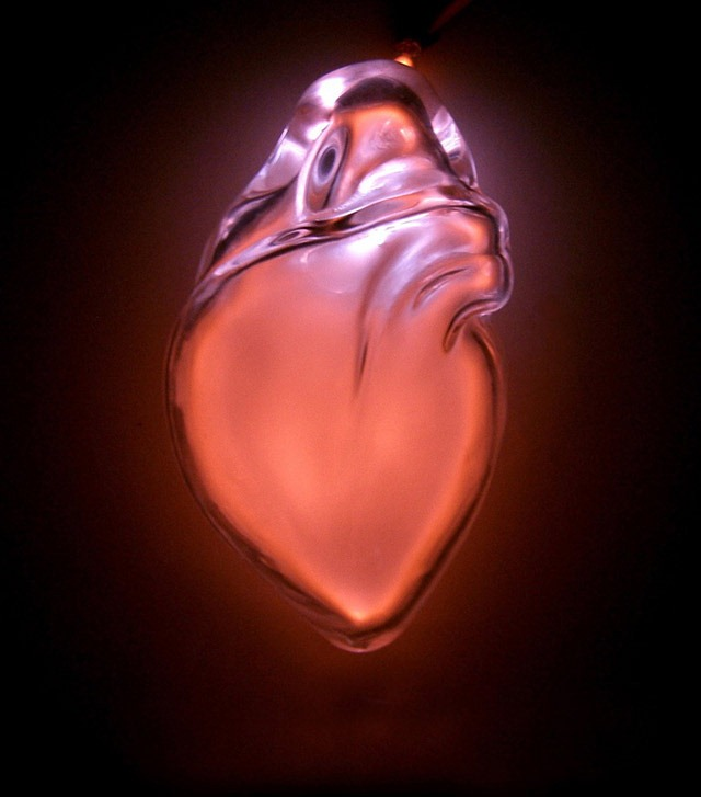 Anatomical Neon, Glowing Human Organ Sculptures by Jessica Lloyd-Jones