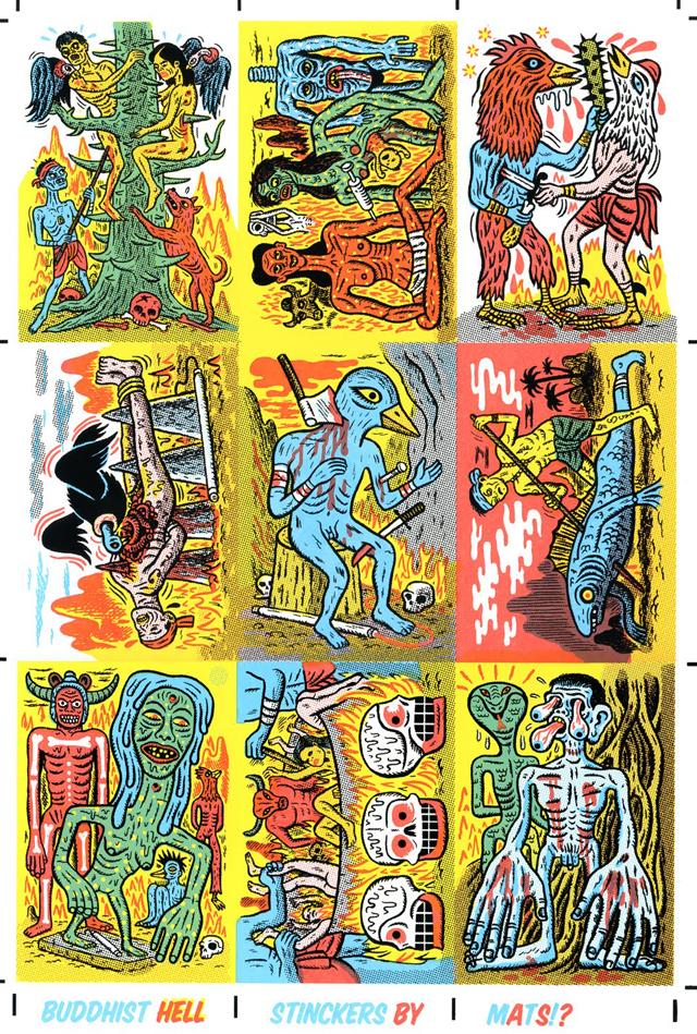 Buddhist Hell Stinckers by Mats!?