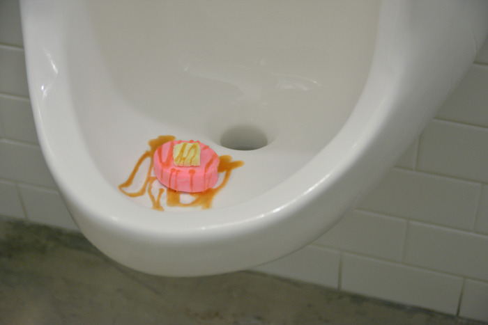 Urinal Cakes Decorated to Look Like Real Cakes