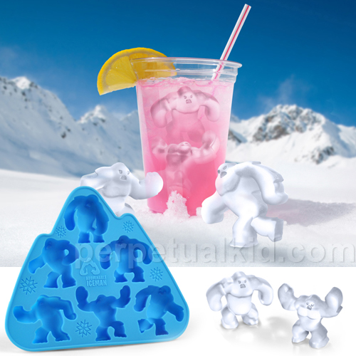 Abominable Iceman Ice Cube Tray at Perpetual Kid