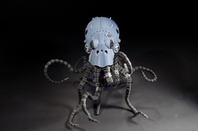 Octopod Underwater Salvage Vehicle by Sean Charlesworth