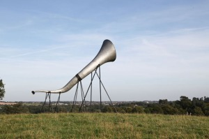 Hear Heres, Giant Ear Trumpets by Studio Weave