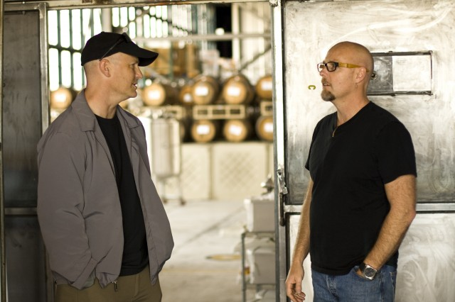 Alexander Rose from Long Now and Lance Winters of St George Spirits