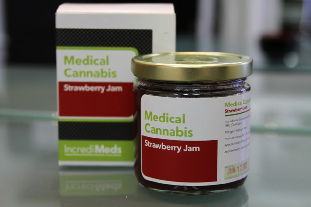 Medical Cannabis Strawberry Jam