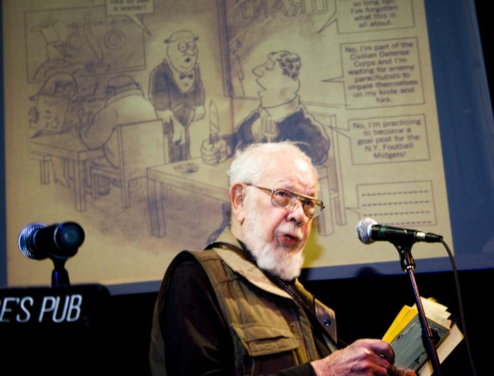 Al Jaffee Reads from Snappy Answers to Stupid Questions