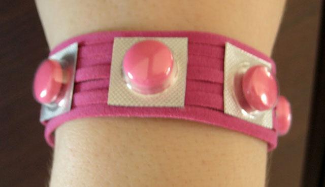Expired Pill Bracelet