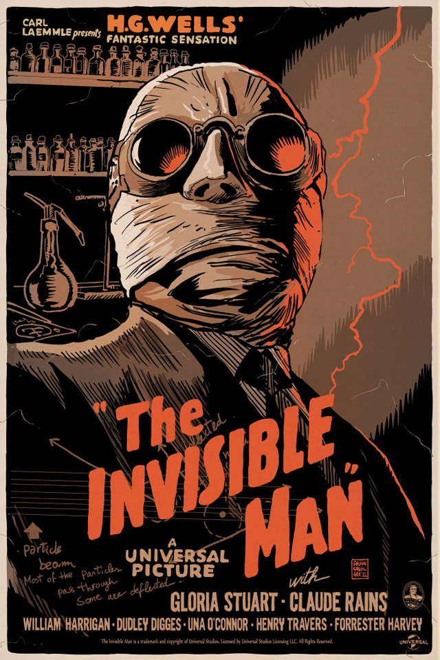 The Invisible Man by Francesco Francavilla