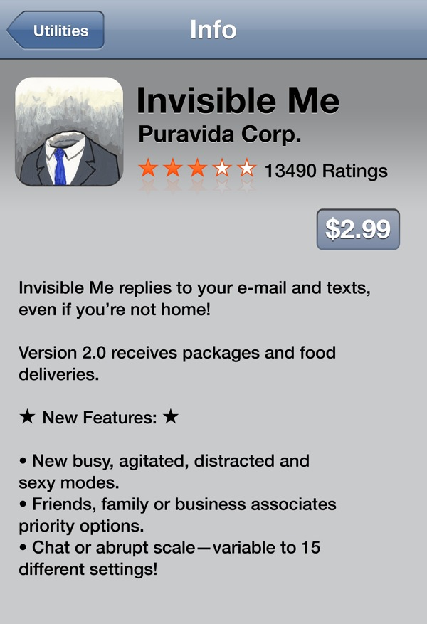 Absurdist iPhone Apps by David Byrne
