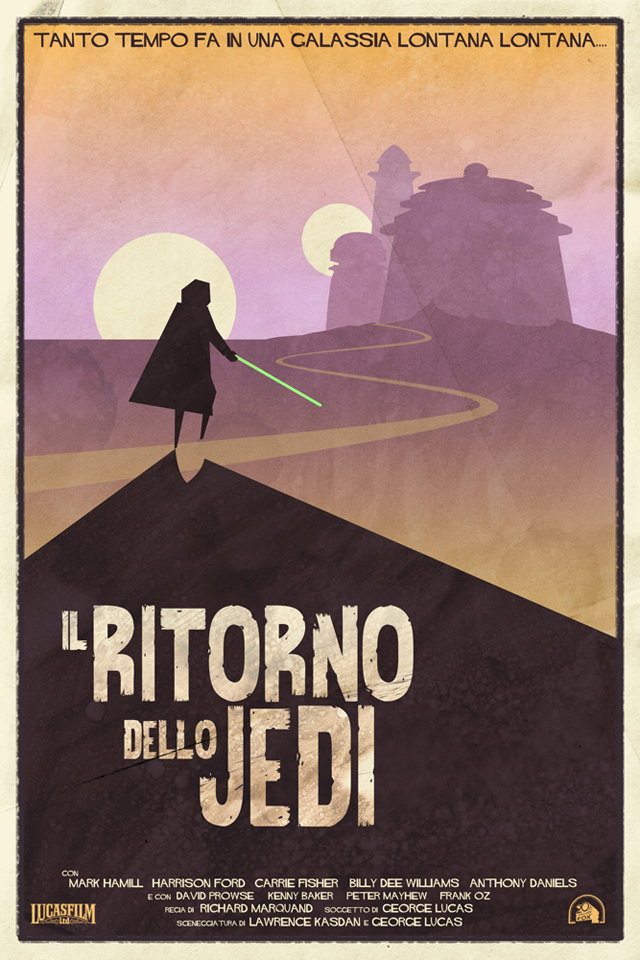 Il Ritorno Dello Jedi (Return of the Jedi) by Timothy Anderson