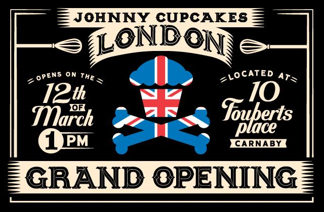 Johnny Cupcakes in London