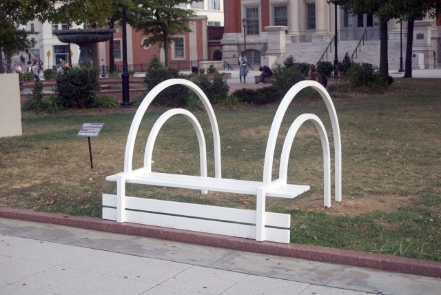 Modified Social Benches by Jeppe Hein